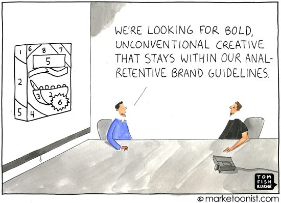 Creativity vs. Branding Guidelines