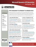 Microsoft Dynamics GP Newsletter