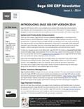 Sage 500 ERP Newsletter