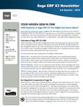 Sage ERP X3 Newsletter