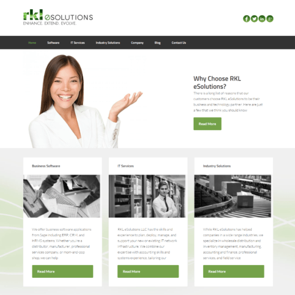 RKL eSolutions Website Upgrade