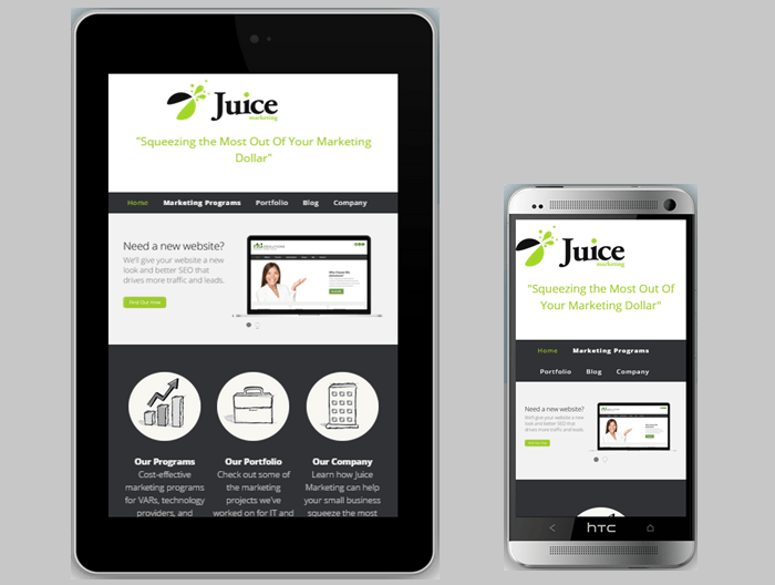 Mobile-Responsive Web Design