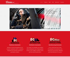 DCSC  Inc. Website (After)