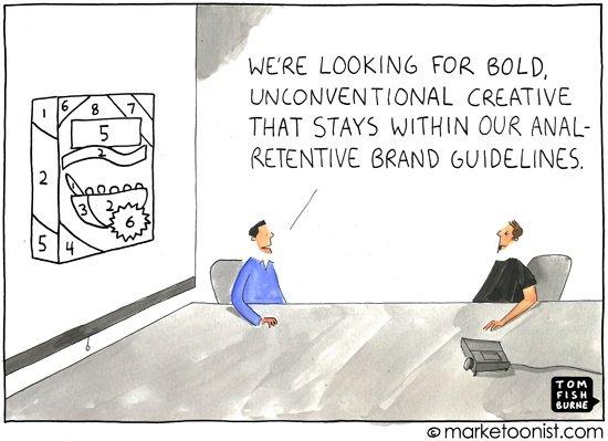 Creativity vs. Branding Guidelines