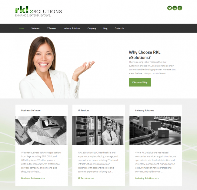 Juice Marketing Website Portfolio - RKL eSolutions