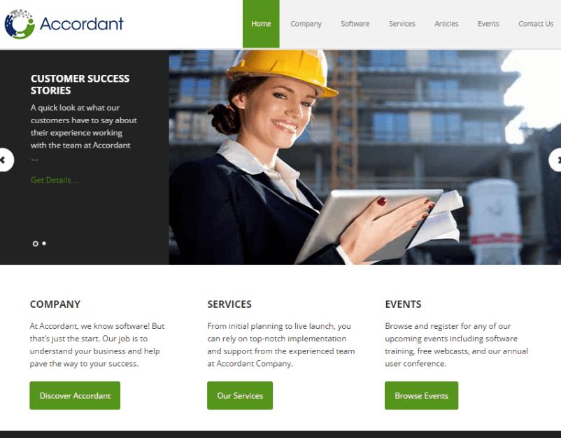 accordant-website