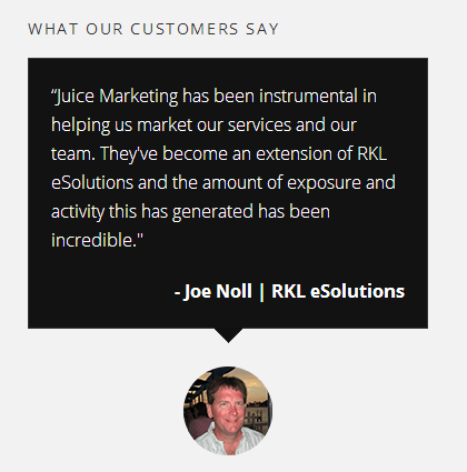 Customer Testimonial Noll