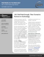JE Duff Customer Case Study